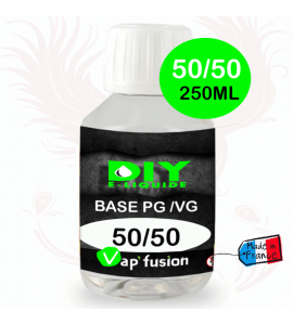 Base neutre - 250 ml - PG/VG - 50/50 - DIY E LIQUIDE - Vapfusion