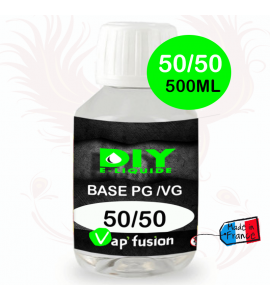Base pg/vg 50-50 500ml by Vap'fusion