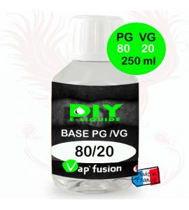 Base neutre - 250 ml - PG/VG - 80/20 - DIY E LIQUIDE - Vapfusion