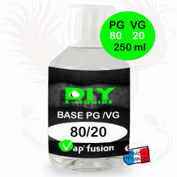 Base PG/VG 80-20 250ml by Vap'fusion