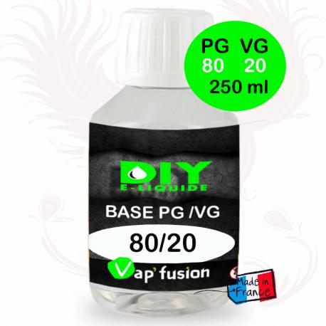 Base PG/VG 80-20 250ml by Vap'fusion