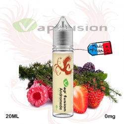 E liquide  Andromède - 20ml + booster nicotine Vapfusion