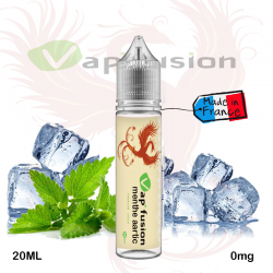 E liquide  Menthe Artic 20ml + booster nicotine -  Vapfusion