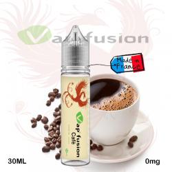 E liquide  Café 20ml+ booster nicotine -  Vapfusion