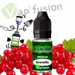 E liquide Groseille 10ml Vapfusion