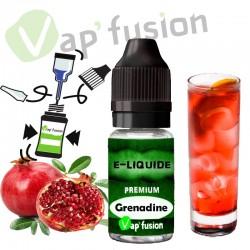 E liquide Grenadine 10ml Vapfusion