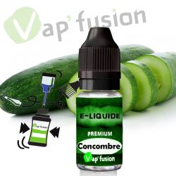 E liquide concombre 10ml Vapfusion