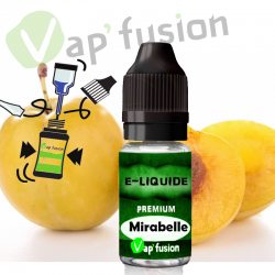 E liquide Mirabelle 10ml Vapfusion