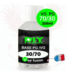 Base neutre- 250 ml PG/VG - 30/70 - DIY E LIQUIDE - Vapfusion