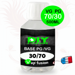 Base VG/PG 70-30 500ml by Vap'fusion