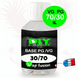 Base VG/PG 70-30 1l by Vap'fusion