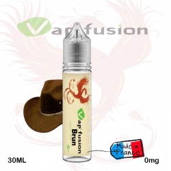 E liquide  Classic Brun  - 20ml + booster nicotine-  Vapfusion