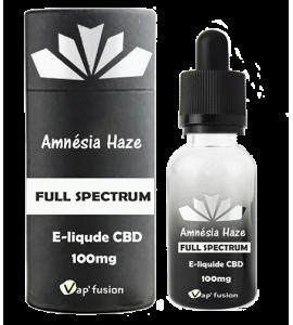 e-liquide Cbd Amnesia Haze full spectrum