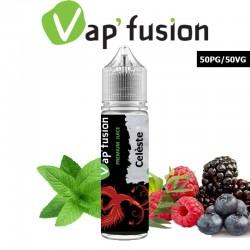 E liquide Vapfusion 50 ml - Céleste - Prêt à booster