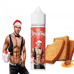 E-liquide Dad Christmas 50 ML - 50/50 PG/VG - Prêt à booster -  Pain d'épice Miel