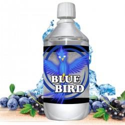 E liquide Blue Bird - 1 l - 50/50 PG/VG - 1 000 ML - myrtille cassis fraîcheur