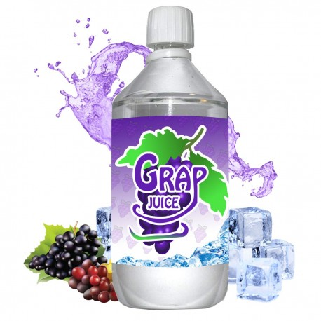E liquide Grap Juice - 1 l - 50/50 PG/VG - 1 000 ML - Raisin Frais