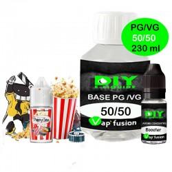 Pack base DIY facile e liquide PoppyCorn 230 ml Vap'fusion