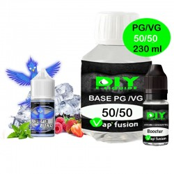 Pack base DIY facile e liquide Blue Bird 230 ml Vap'fusion