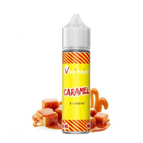 E-liquide Caramel 50 ml 50/50 PG/VG Vap'fusion